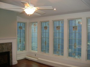 Artistic Contracting - Architectural Millwork - Custom Floor to Ceiling 360 Windows