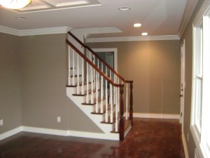 Artistic Contracting - Architectural Millwork - Banisters and Crown Molding