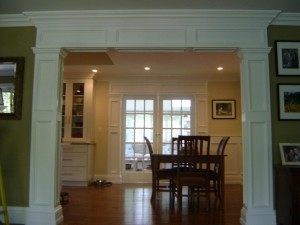 Artistic Contracting - Architectural Millwork - Custom Entry Surround