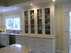 Long Island Dream Kitchen - Artistic Contracting - Custom Cabinets